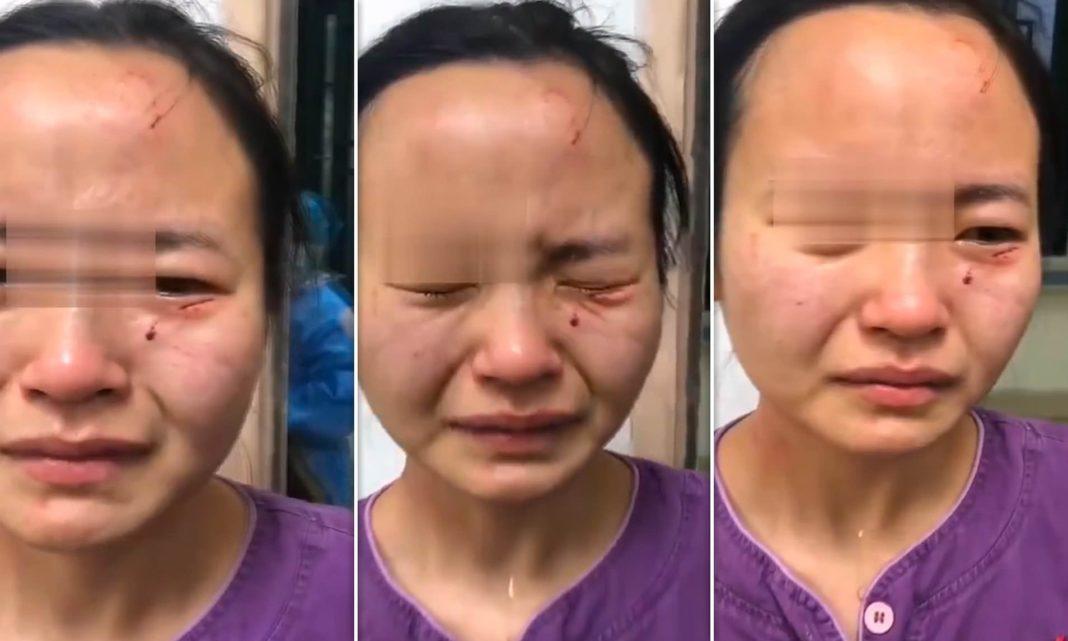 Nigerian man bites a chinese nurse
