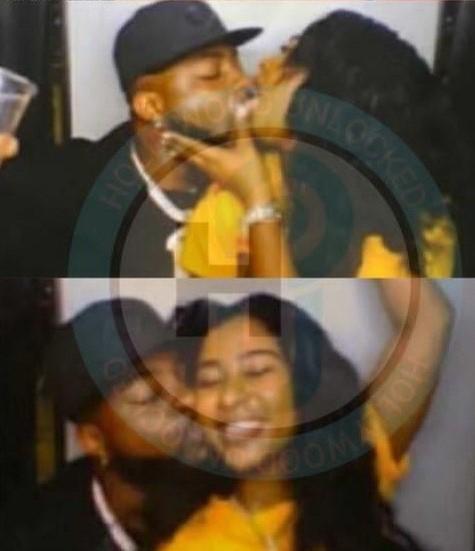 Davido kiss Mya