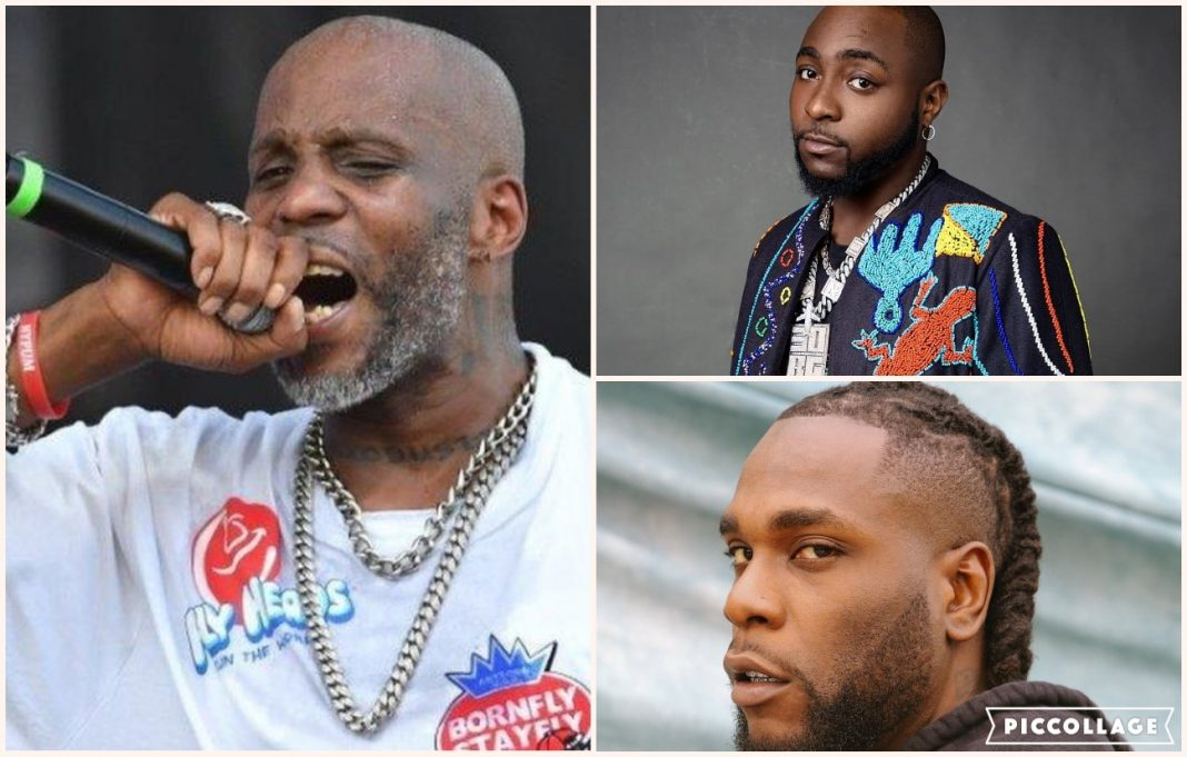 Burna Boy, Davido, and fans mourn DMX