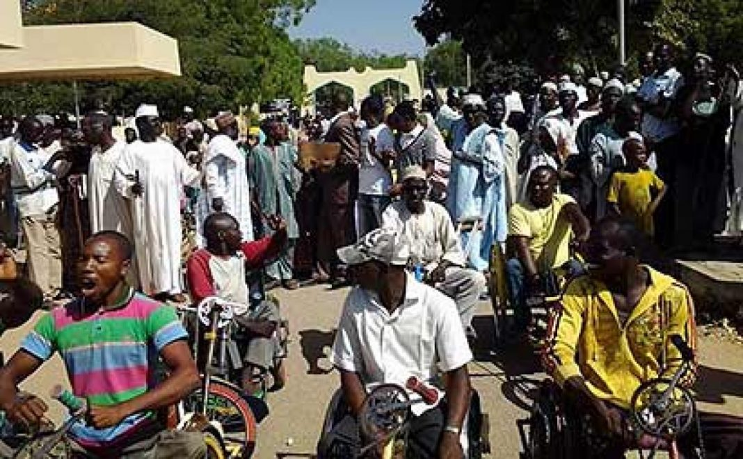 Oyo State Beggars Protest Over No Patronage From People